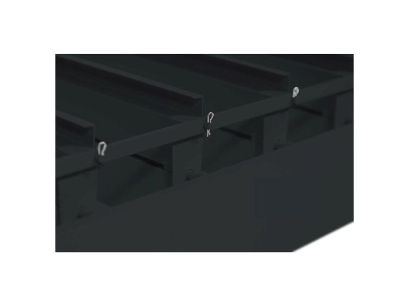 Mirador Deluxe paviljoen 300x300 cm zwart