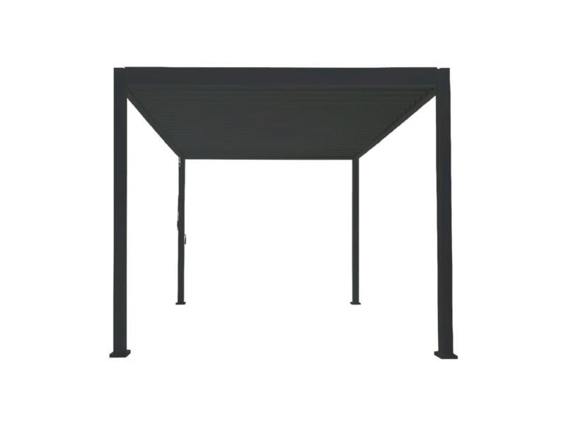 Mirador Deluxe paviljoen 300x360 cm zwart