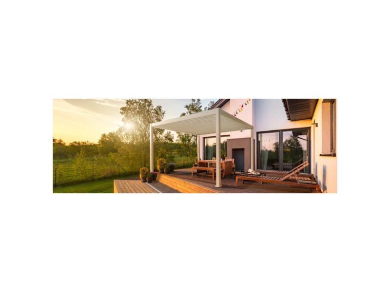 Mirador Deluxe paviljoen 300x400 cm wit