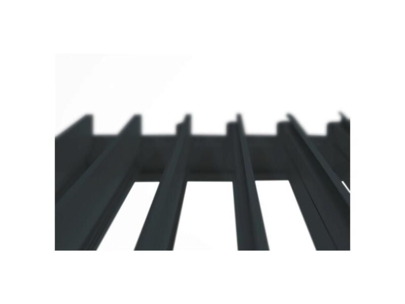Mirador Deluxe paviljoen 300x400 cm zwart