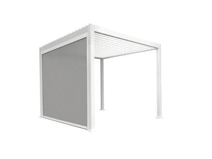 Mirador paviljoen zijscherm 300cm wit