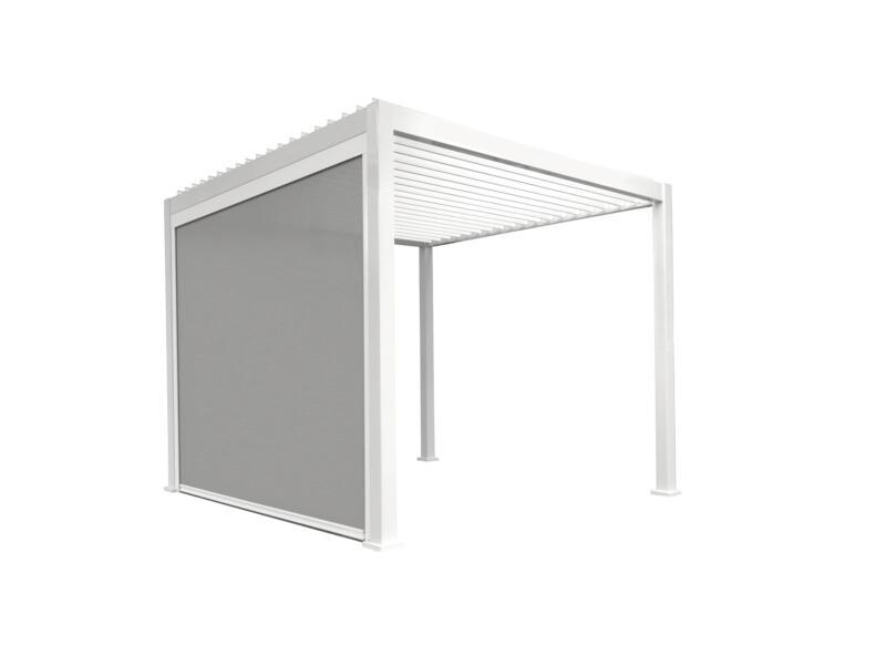 Mirador paviljoen zijscherm 360cm wit