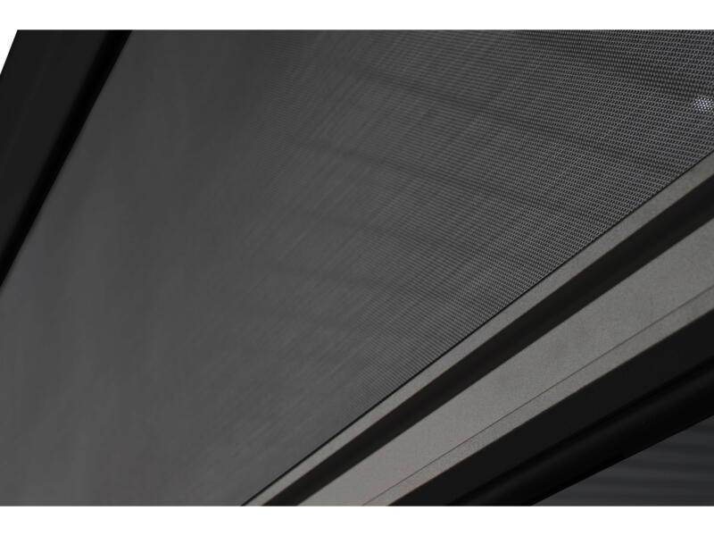 Mirador paviljoen zijscherm 360cm zwart