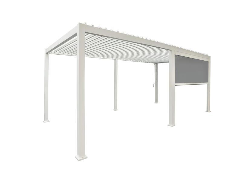 Mirador paviljoen zijscherm 400cm wit