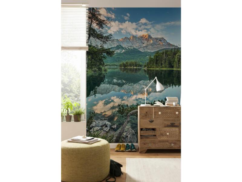 Mirror Lake papier peint photo 4 bandes