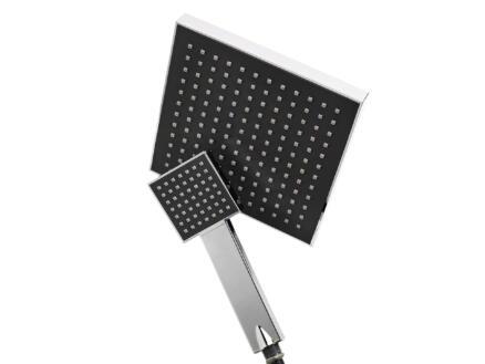 Differnz Mix & Match tête de douche + douchette XL carré
