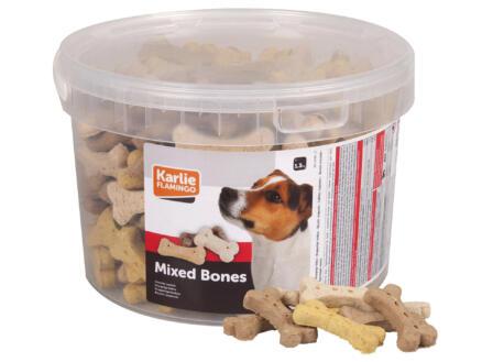 Flamingo Mixed Bones biscuit chien 1,3kg
