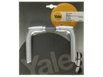 Yale Model 119 deurklinkset aluminium