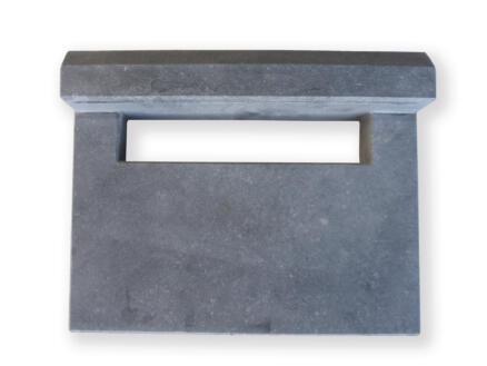 De Witte Model 2 inmetsgleuf belgische blauwe steen