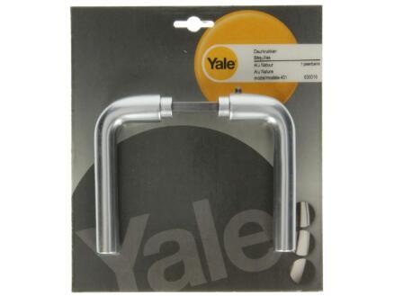 Yale Model 401 L deurklinkset aluminium