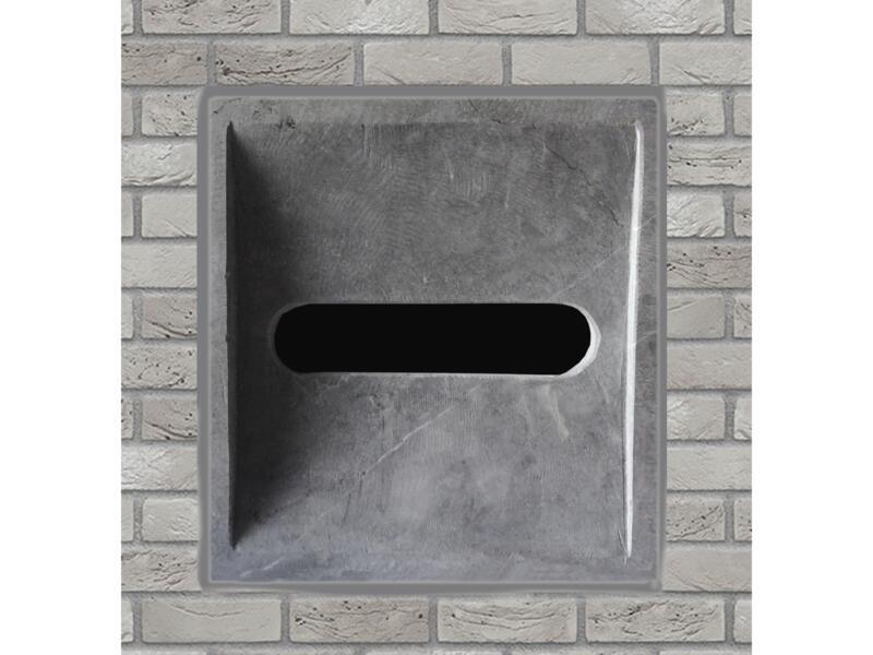 De Witte Modèle 22 entrée de boîte aux lettres pierre bleue