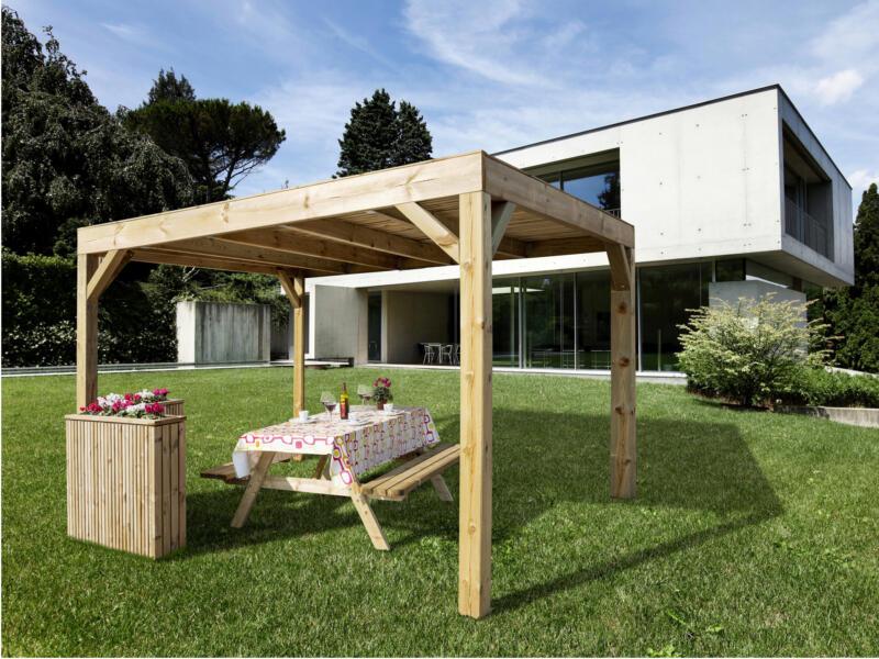 Modena paviljoen 324x324 cm