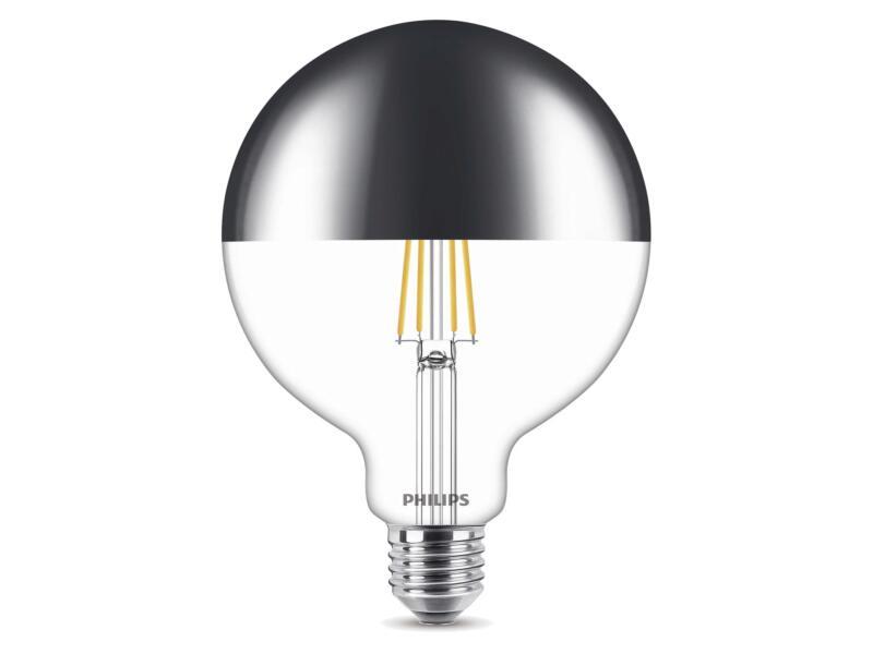 Philips Modern LED bollamp kopspiegel E27 8W wit dimbaar