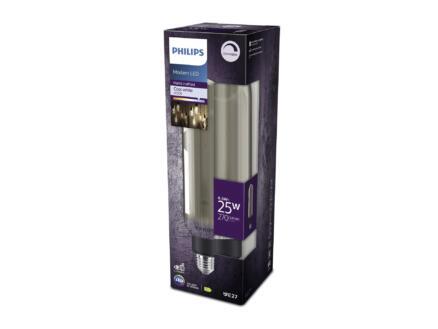 Philips Modern LED buislamp E27 6,5W wit dimbaar