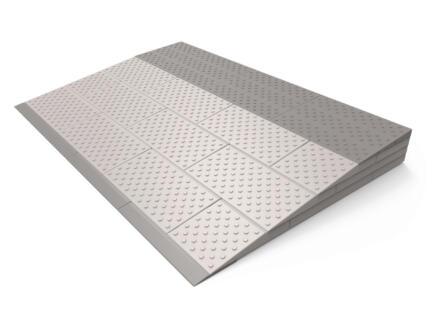 Modulaire drempelhulp 4 laags 84x57 cm grijs