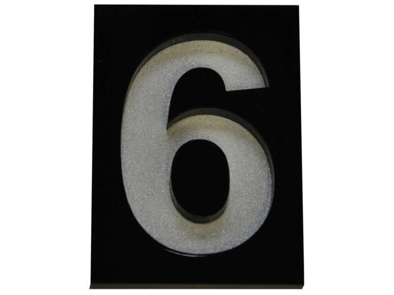 Module chiffre numéro 6 5x7 cm