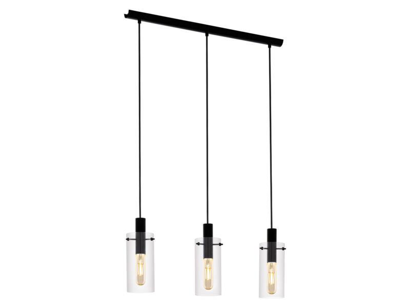 Eglo Montefino hanglamp E27 max. 3x60 W zwart