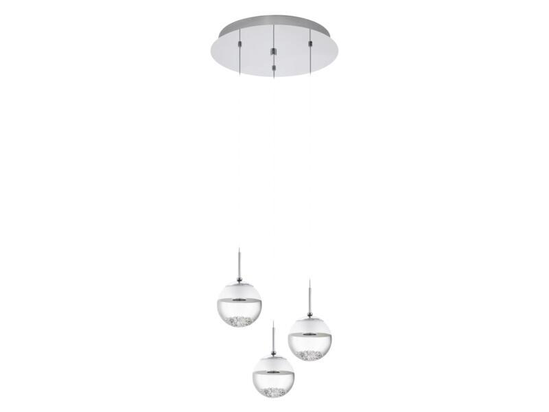 Eglo Montefio suspension LED 3x5 W 40cm chrome