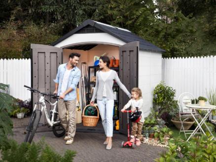 Keter Montfort 759 abri de jardin 287x228x252 cm résine