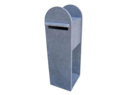 VASP Montolla boîte aux lettres pierre bleue belge