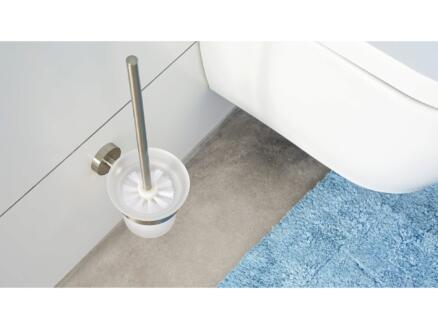 Tesa Moon WC-borstel met houder inox