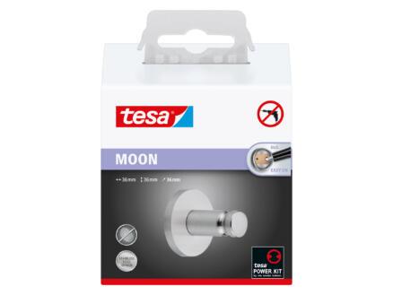 Tesa Moon handdoekhaakje modern zelfklevend 36x36 mm