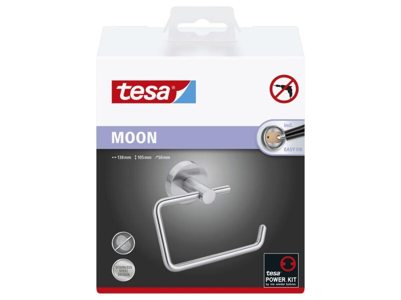 Tesa Moon porte-papier toilette inox