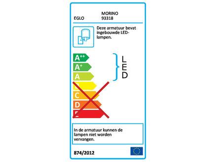 Eglo Morino LED wandlamp 2x2,5 W wit