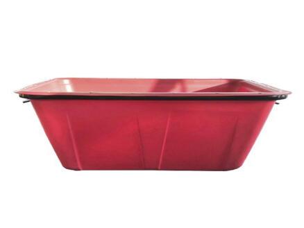 Mortelkuip 200l rood