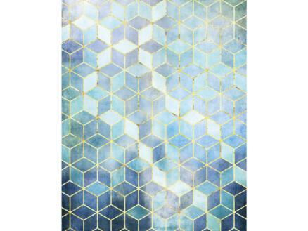 Mosaik Azzuro intissé photo numérique 2 bandes