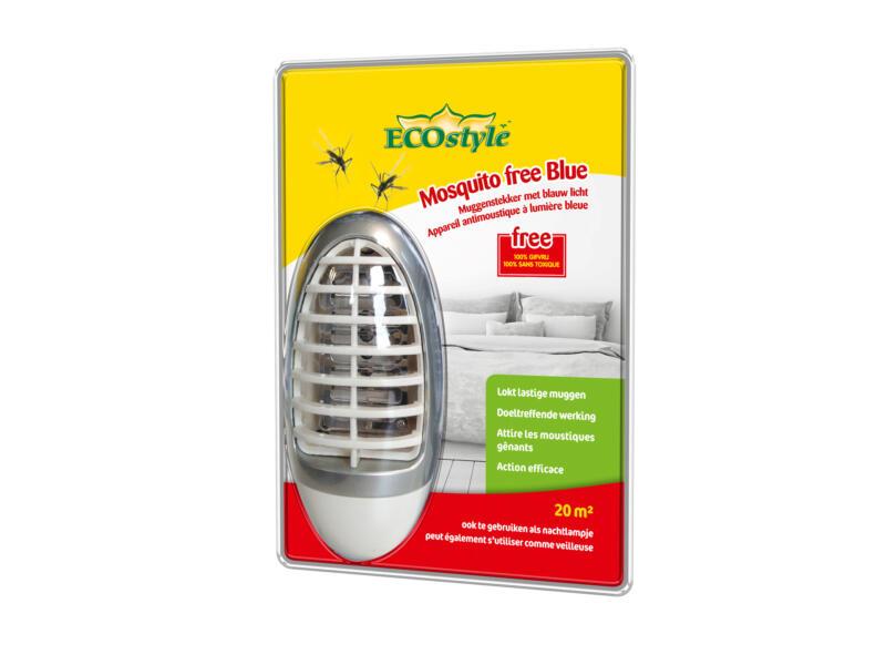 Ecostyle Mosquito free Blue muggenlamp
