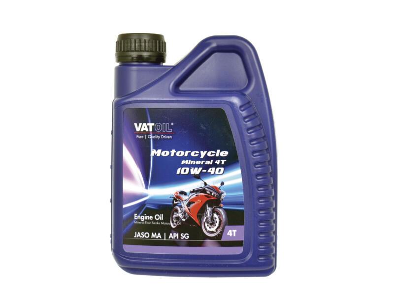 Motorcycle Mineral huile moteur 4 temps 10W-40 1l