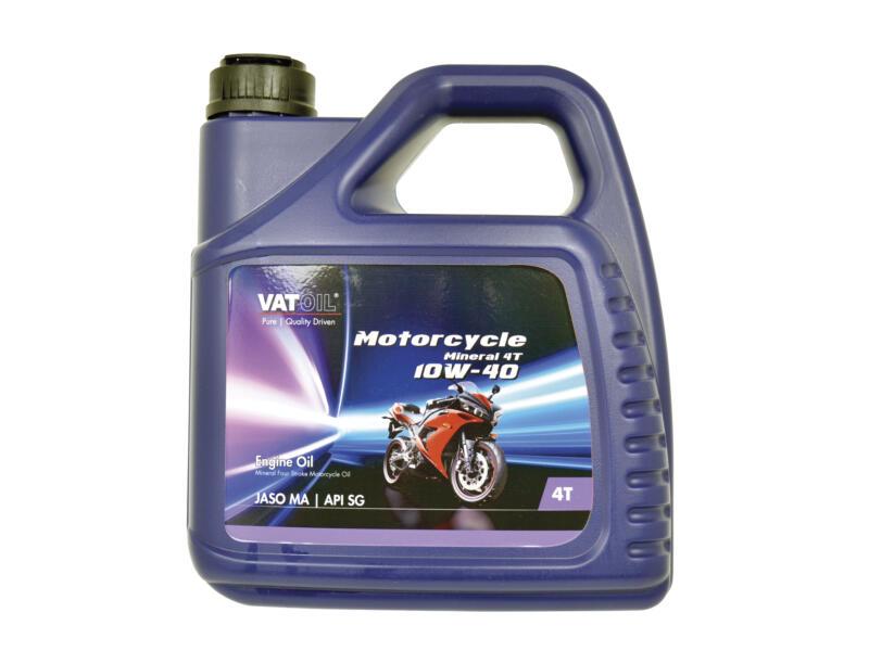 Motorcycle Mineral huile moteur 4 temps 10W-40 4l
