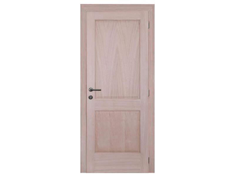 Solid Moulura Oak binnendeur 201x73 cm eik bruin