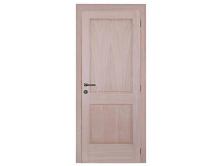 Solid Moulura Oak porte intérieure 201x73 cm chêne brun