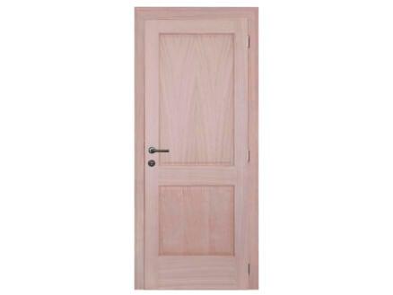 Solid Moulura Oak porte intérieure 201x83 cm chêne brun