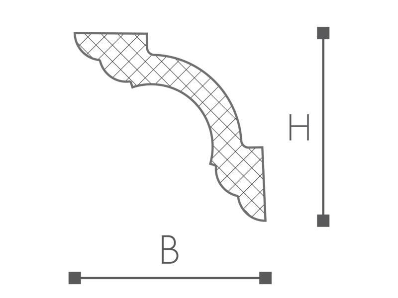 Moulure C1 HDPS