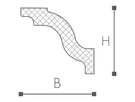 Moulure D7 polystyrène