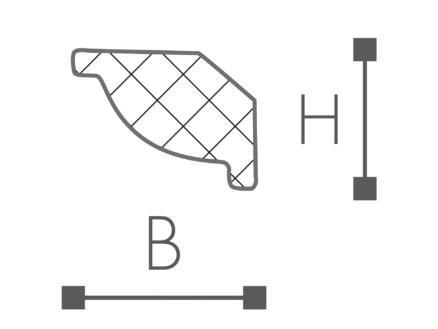 Moulure/Plinthe C5 HDPS