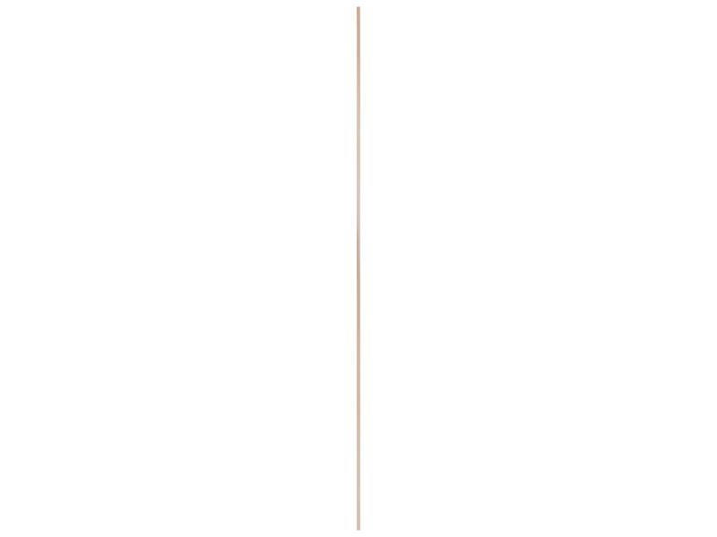 Moulure creuse 16x16 mm 270cm pin