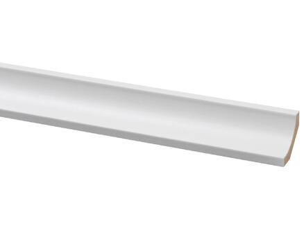 Moulure creuse 28x28 mm 260cm blanc