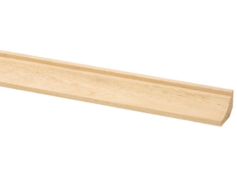 Moulure creuse 33x22 mm 270cm bois dur