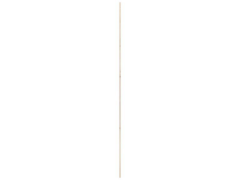 Moulure d'angle 14x14 mm 240cm bois dur blanc