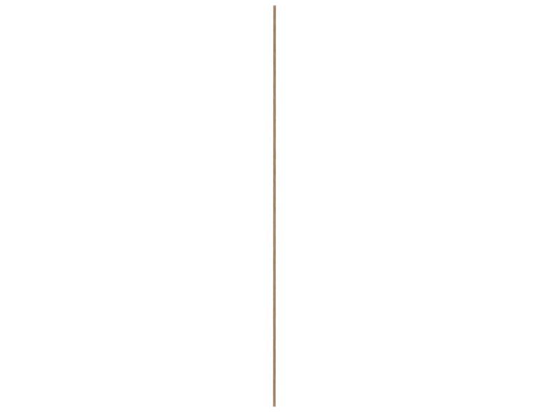 Moulure d'angle 14x14 mm 240cm bois dur