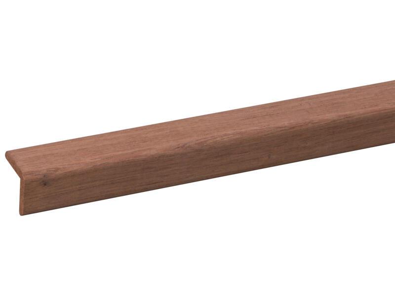 Moulure d'angle 20x20 mm 240cm bois dur
