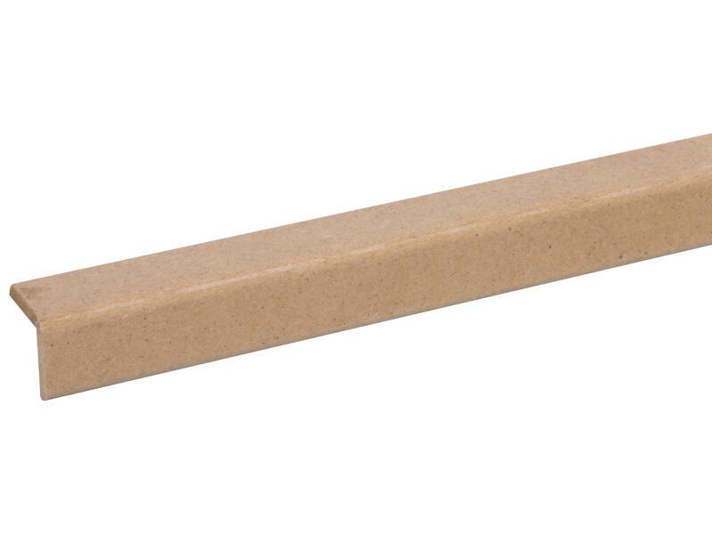 Moulure d'angle 21x21 mm 260cm