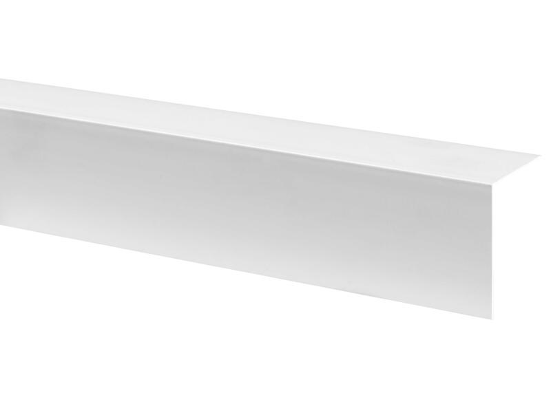 Moulure d'angle 50x50 mm 260cm blanc