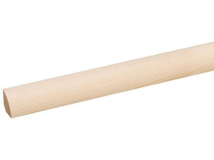 Moulure quart-de-rond 16x16 mm 270cm pin