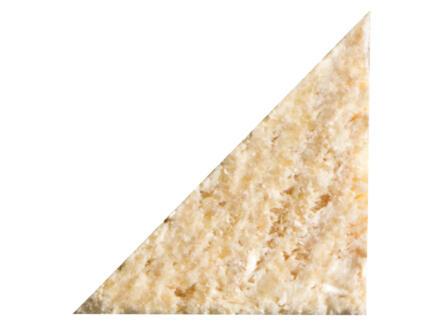 Moulure triangle 14x14 mm 210cm épicéa