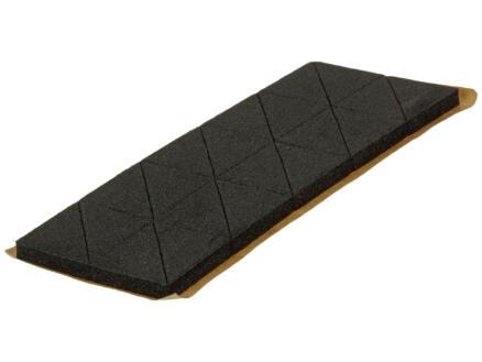 Mack Mousse adhésive triangle 15x15 mm noir 40 pièces